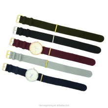 Hotsale Woven Nylon Perlon Watch Band