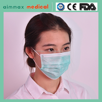 SURGICAL DISPOSABLE 3PLY FACE MASK EAR LOOP ANTI DUST MOUTH COVER MASKS