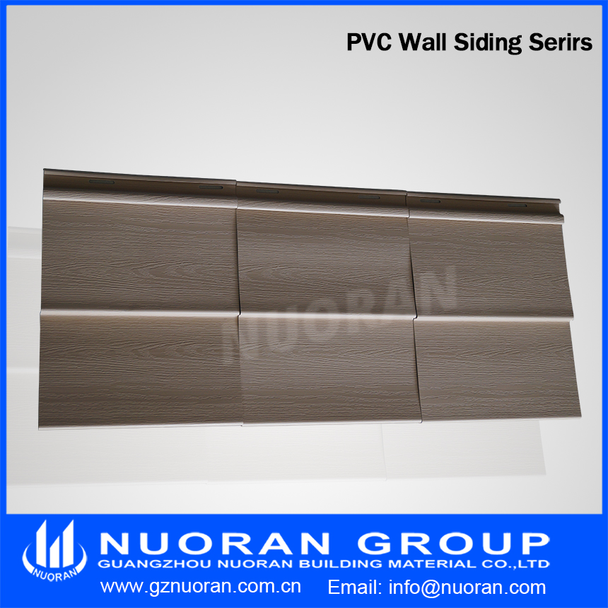 PVC exterior house decorative Wall Paneling PVC vinyl siding