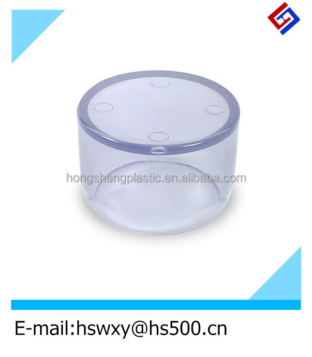 custom made transparent clear plastic adjustable parts /plastic joints /pipe fitting