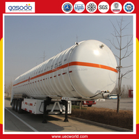 Trailer Cryogenic For Liquid Nitrogen Oxygen