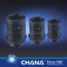 CE ROHS Connectors straight Black CA-SM-G Union for flexible pipe cable gland