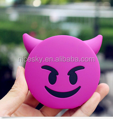New Emoji Power Bank Portable Charger Compatible For iPhone Android