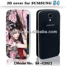 Animal design for samsung galaxy s4 case,Fashion 3d cell phone case for samsung s4 i9500