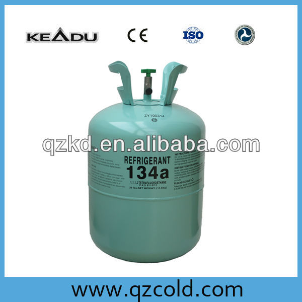 HOT sale 30LB packing r134 a gas with top quality