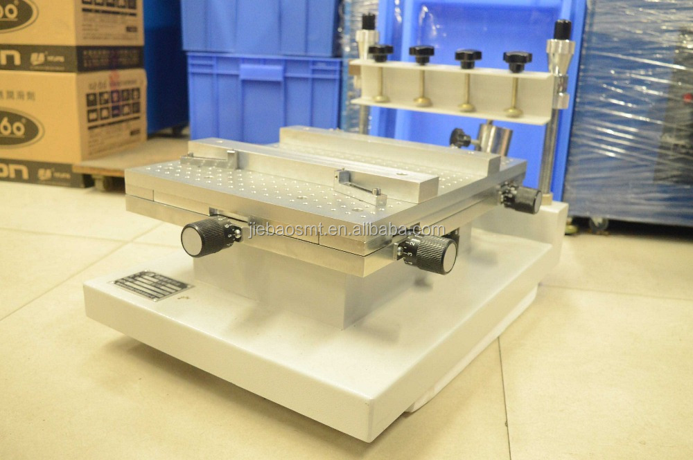 table Semi-Auto Solder Paste Screen Printer