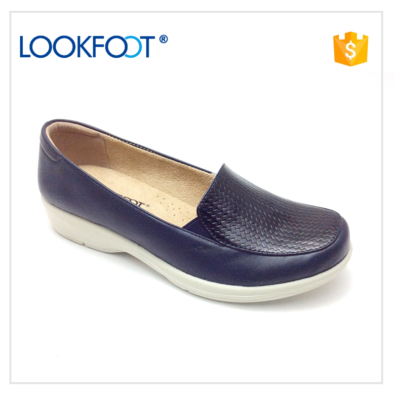 Factory Cheap price woman lady flat closed shoes summer