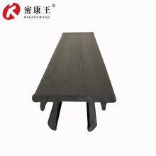 Durable rubber strip used for pvc refrigerator door gasket