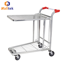 Discount Transport Cargo Steel Powder Coating Warehouse Cart