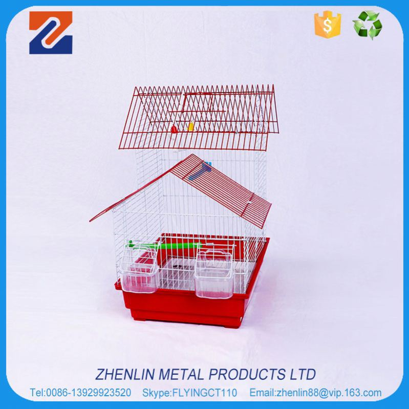 China factory high grade bird cages for zebra finches