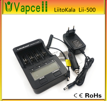 2016 Liitokala Lii-500 NiMH Battery Charger 3.7V 18650 26650 1.2V AA AAA 5 V output LCD smart charger US