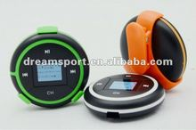 Supports FM transmitter MP3 players with pedometer WMA