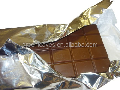 chocolate aluminum foil wrapping paper for chocolate