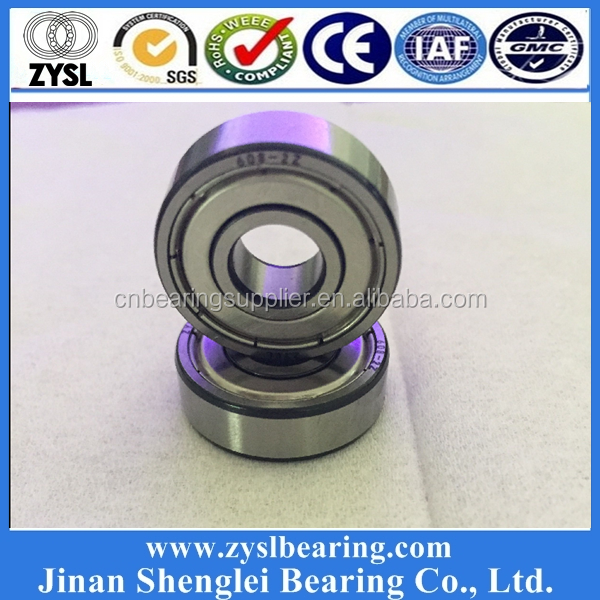 High Quality Cheap Custom Printed Skateboard Bearings 608 Precision Quad Inline Skate Bearings for Scooter Wheels