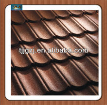 Stone coated metal roofing shingle