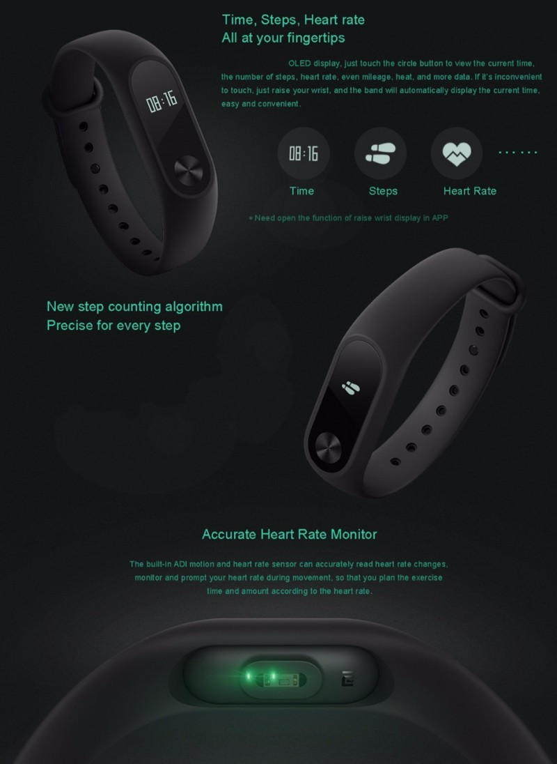 Popular M2 Wristband Bracelet Smart Heart Rate Monitor Fitness Tracker Touchpad Bluetooth Smart band add a strap for Android iOS