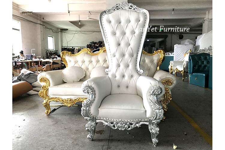 high back king throne chair