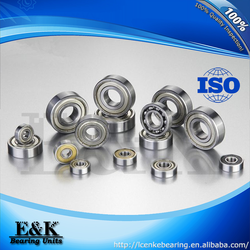 roller skating miniature deep groove ball bearing 608ZB