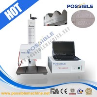 Hot sale Possible brand laser printing machine on metalic sheets