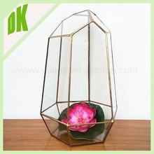 Hot Sale manufacture round handicraft green moss fashion chinese garden half flower pots