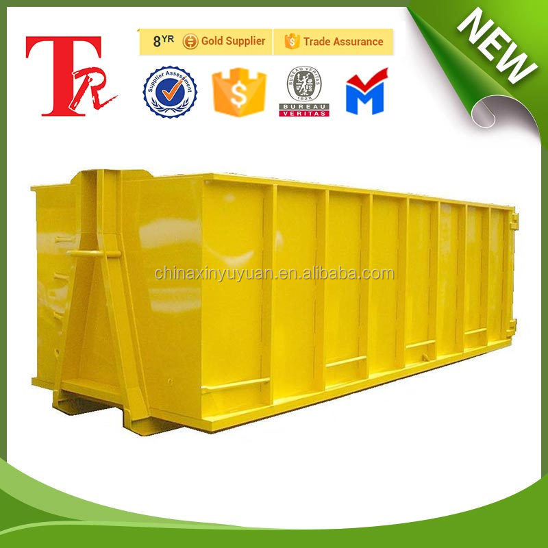 refuse collector skip container hook lift container