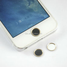 New Metal Home button Sticker For iPhone 4 With Touch ID Identification