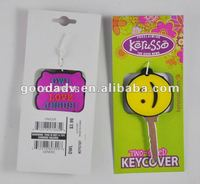 cutely plastic rubber key head cover