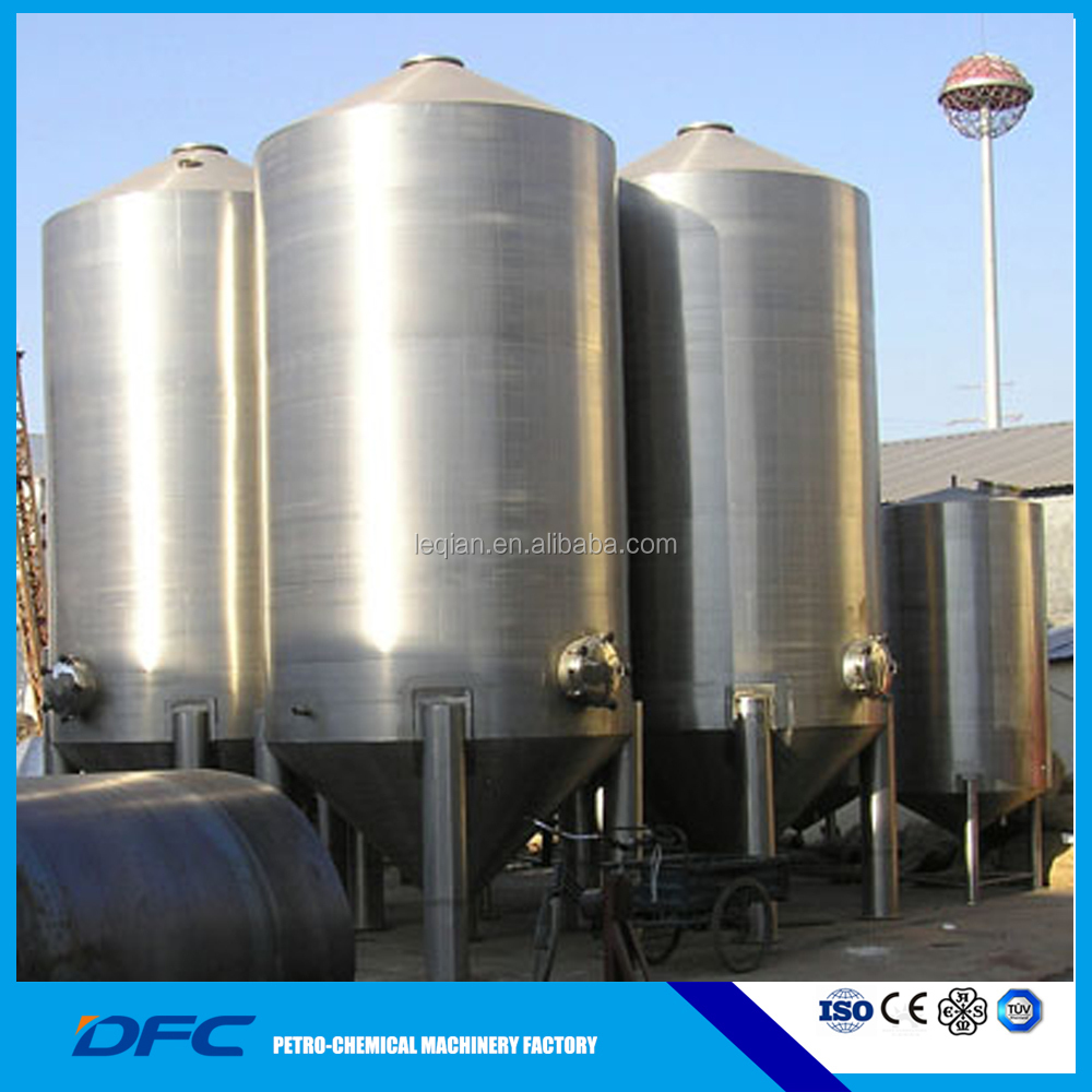 ASME glass lined storage tanks for nature gas/waste water