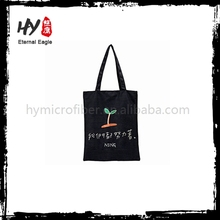 New design handle women heavy duty canvas tote bag with high quality