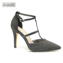 New arrival amazing quality handmade elegant women thin- high heel ladies pump shoes