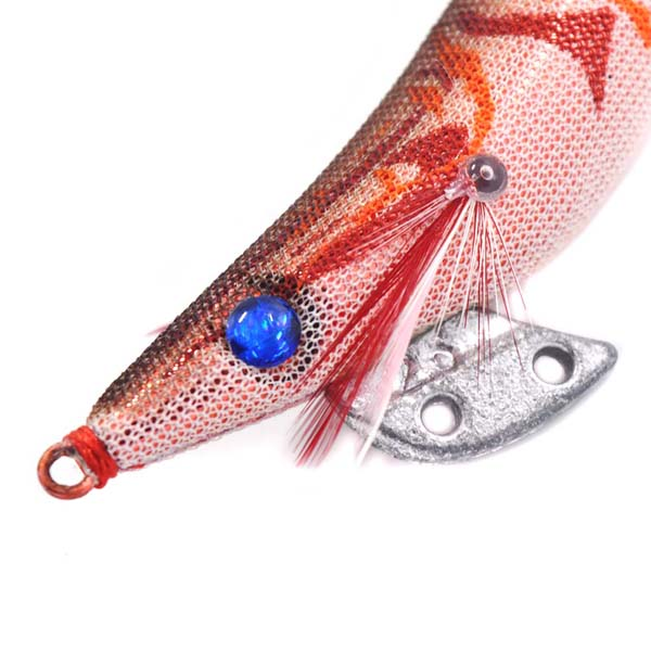 Chentilly CHS008 7.5cm 13g luminous squid jig with stainless steel hook fishing bait for octopus