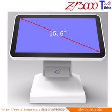stock white factory price 15.6 inch pos all in one capacitive touch screen POS terminal With nfc card reader