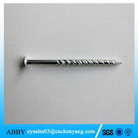 Brass twisted shank nails, nail and screw making machines