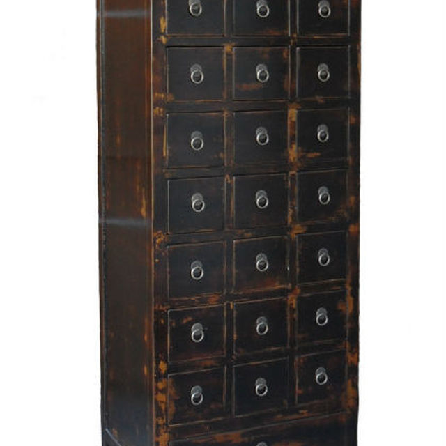 Chinese antique furniture medicine cabinet