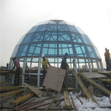 Hot Sale Waterproof Space Frame Prefab Dome House