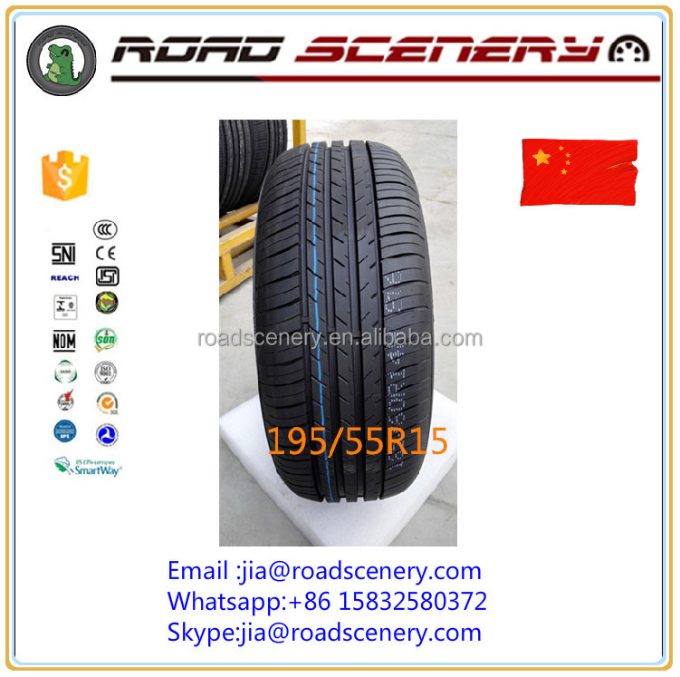 tubeless tyre for car ,15inch Habilead radial car tyre 195/55R15 with EU lable
