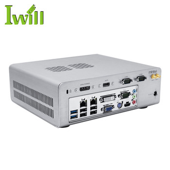 Cheap HTPC computer i3 i5 i7 haswell mini-itx barebone with 8USB dual LAN