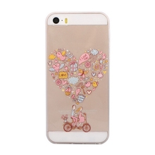 Bottom price manufacture rabbit ear tpu phone cover for iphone5