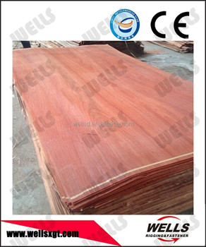 0.3mm PLB wood face veneer size of 4'*8';4'*7';4'*6';3'*7';3'*6' ;4GRADE A B C D similar with gurjan face veneer