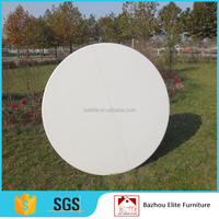 Coffee small plastic folding 4ft round table