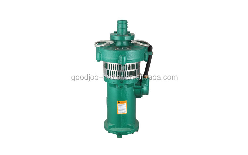 water pump QY 1,5hp All stainless steel sewage submersible pump