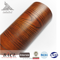 China good supplier latest wood grain vinyl sheet roll film