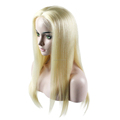 Blonde Color #613 Virgin Hair Customized Full Swiss Lace Wig
