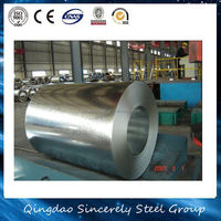 Minimum Width 4mm ASTM DX51D+Z prime hot dipped galvanized steel coil