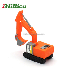 Custom excavator usb pen drive track hoe usb flash drive
