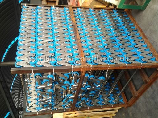 Escalator Step Chain used for Mitsubishi Thyssen KONE