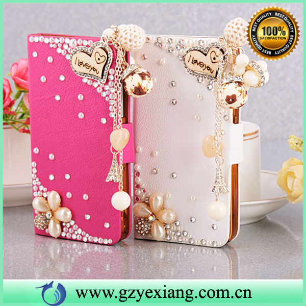 3d bling crystal leather case for samsung galaxy s3 i9300