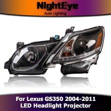 NightEye Car Styling for Lexus GS350 Headlights 2004-2011 GS300 LED Headlight Car Accessories/Auto Parts