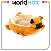 Alibaba China Wholesale Super Soft Animal Mat Plush Elevated Pet Bed Dog Kennel
