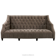 Classic sofa with soft curves chesterfield modern white sofa furniture